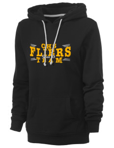Clyde High School Fliers Women's Core Fleece Hooded Sweatshirt