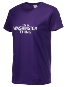 Washington School Warriors Women's 6.1 oz Ultra Cotton T-Shirt