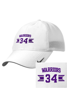 Washington School Warriors Embroidered Nike Golf Mesh Back Cap