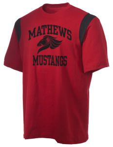 Mathews High School Mustangs Holloway Men's Rush T-Shirt