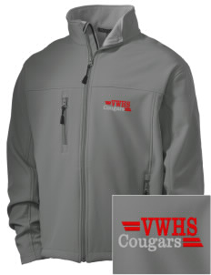 Van Wert High School Cougars Embroidered Men's Soft Shell Jacket