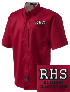 Rittman High School Indians Embroidered Men's Easy Care Shirt