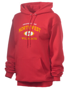 Northwest 6th Grade Center Wildcats Unisex 7.8 oz Lightweight Hooded Sweatshirt