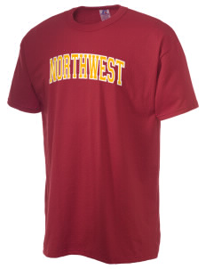 Northwest 6th Grade Center Wildcats  Russell Men's NuBlend T-Shirt