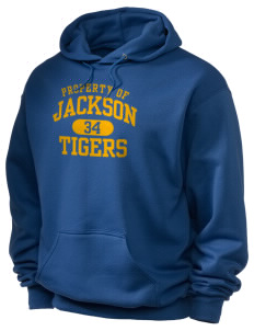 Jackson Elementary School Tigers Holloway Men's 50/50 Hooded Sweatshirt
