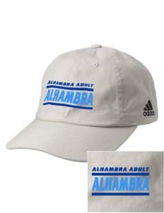 Alhambra Adult School Alhambra Embroidered adidas Relaxed Cresting Cap