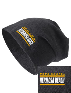 Hope Chapel Academy Hermosa Beach Embroidered Slouch Beanie