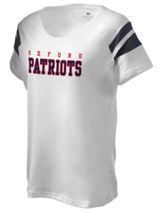 Oxford Academy Patriots Holloway Women's Shout Bi-Color T-Shirt