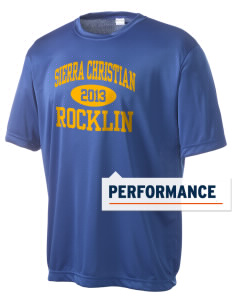 Sierra Christian School Rocklin Men's Competitor Performance T-Shirt