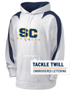 Sierra Christian School Rocklin Holloway Men's Sports Fleece Hooded Sweatshirt with Tackle Twill