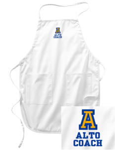 Alto Middle School Alto Embroidered Full Length Apron
