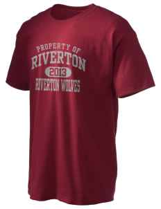 Riverton Elementary School Riverton Wolves Hanes Men's 6 oz Tagless T-shirt
