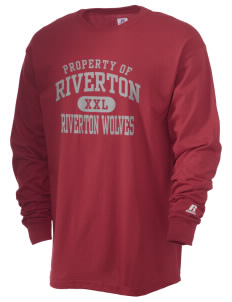 Riverton Elementary School Riverton Wolves  Russell Men's Long Sleeve T-Shirt