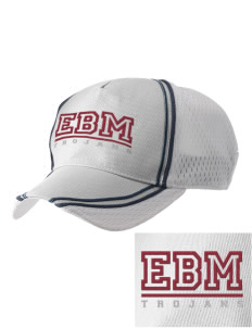 Edna Bigham Mays Elementary School Trojans  Embroidered Champion Athletic Cap