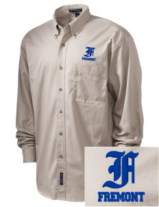 Stratford SchoolFremont Campus Fremont Embroidered Tall Men's Twill Shirt