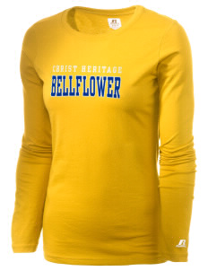 Christ Heritage Academy Bellflower  Russell Women's Long Sleeve Campus T-Shirt