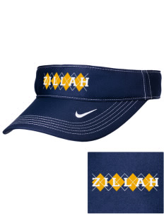 Christian Worship Center Zillah Embroidered Nike Golf Dri-Fit Swoosh Visor