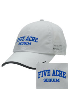 Five Acre School Sequim Embroidered Nike Dri-FIT Swoosh Perforated Cap