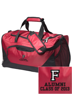 Frontier School Mustangs Embroidered Holloway Chill Medium Duffel Bag