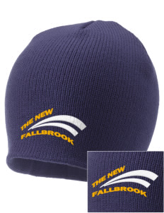 The New School Fallbrook Embroidered Knit Cap