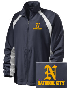 Integrity Charter School National City  Embroidered Men's Full Zip Warm Up Jacket