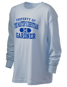 The Master's Christian Academy Gardner Kid's 6.1 oz Long Sleeve Ultra Cotton T-Shirt