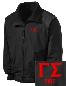 Gamma Sigma Embroidered Tall Men's Challenger Jacket