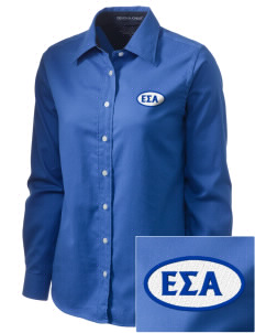 Epsilon Sigma Alpha  Embroidered Women's Pima Advantage Twill