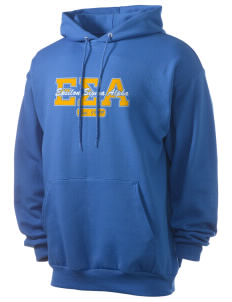 Epsilon Sigma Alpha Men's 7.8 oz Lightweight Hooded Sweatshirt
