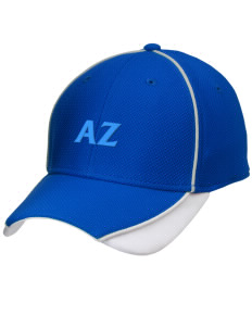 Alpha Zeta Embroidered New Era Contrast Piped Performance Cap