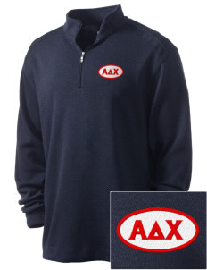 Alpha Delta Chi Embroidered Nike Men's Golf Heather Cover Up