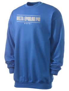 Delta Epsilon Psi Men's 7.8 oz Lightweight Crewneck Sweatshirt