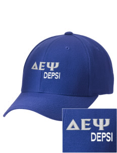 Delta Epsilon Psi Embroidered Wool Adjustable Cap