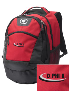 Delta Phi Omega Embroidered OGIO Rogue Backpack
