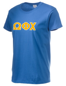 Omega Phi Chi Women's 6.1 oz Ultra Cotton T-Shirt