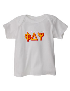 Phi Delta Psi  Baby Lap Shoulder T-Shirt