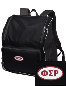 Phi Sigma Rho Embroidered Holloway Backpack
