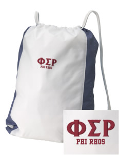 Phi Sigma Rho Embroidered Holloway Home and Away Cinch Bag