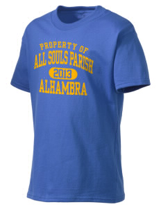 All Souls Parish Alhambra Kid's Lightweight T-Shirt