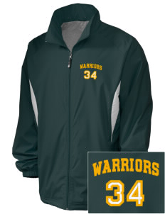 Western Oaks Elementary School Warriors Embroidered Holloway Men's Full-Zip Jacket