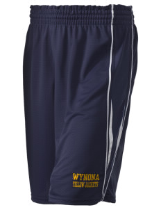 "Wynona Schools Yellow Jackets Holloway Women's Piketon Short, 8"" Inseam"