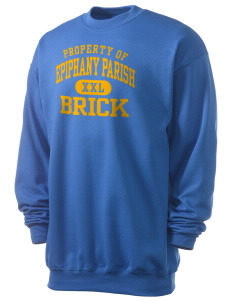 Epiphany Parish Brick Men's 7.8 oz Lightweight Crewneck Sweatshirt