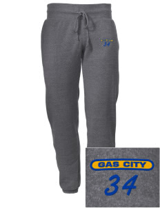 Holy Family Parish Gas City Embroidered Alternative Men's 6.4 oz Costanza Gym Pant