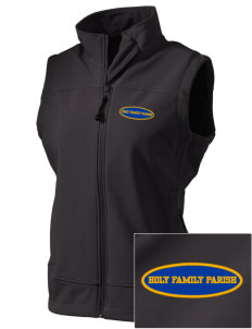 Holy Family Parish Seattle  Embroidered Women's Glacier Soft Shell Vest
