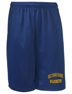 "Holy Family Parish Wilmington Long Mesh Shorts, 9"" Inseam"