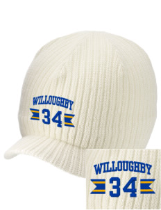 Immaculate Conception Parish Willoughby Embroidered Knit Beanie with Visor