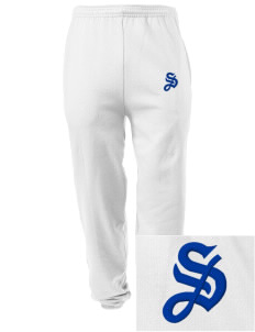 Mater Dolorosa Parish South San Francisco Embroidered Men's Sweatpants with Pockets