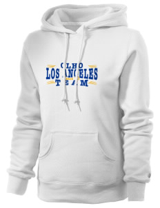Our Lady Help of Christians Parish Los Angeles Russell Women's Pro Cotton Fleece Hooded Sweatshirt