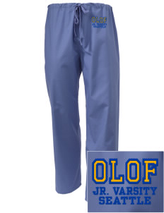 Our Lady of Fatima Parish Seattle Embroidered Scrub Pants