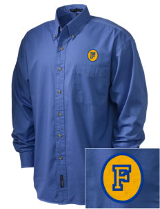 Our Lady of Good Counsel Parish Fort Bragg Embroidered Men's Twill Shirt